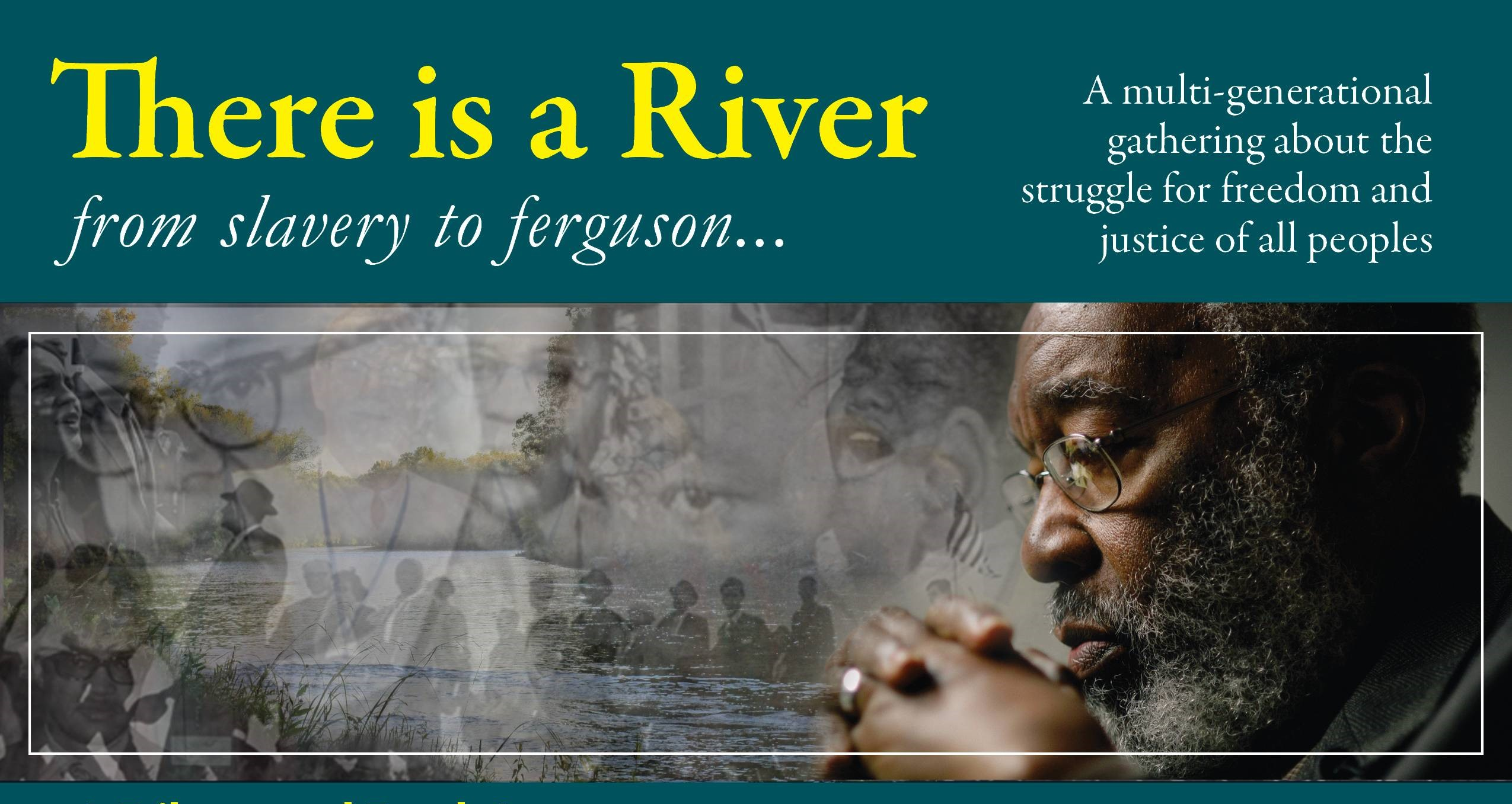 There is a river from slavery to fergusson