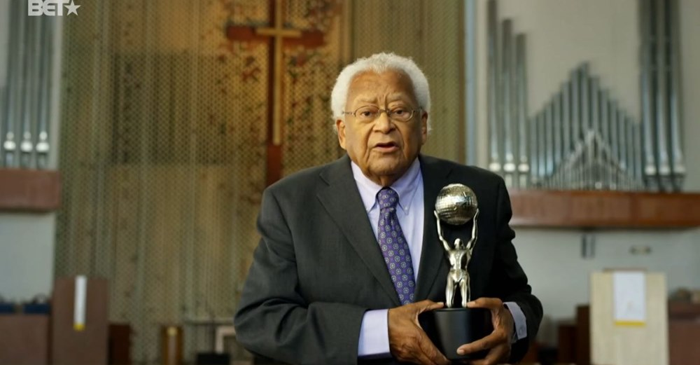 James Lawson receives the NAACP Chairman's Award