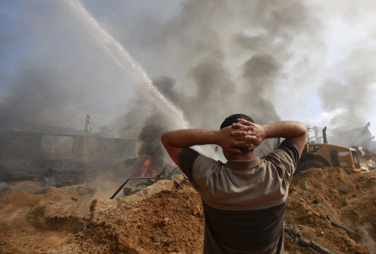 Resources from the Elders on the Palestine & Israel conflict