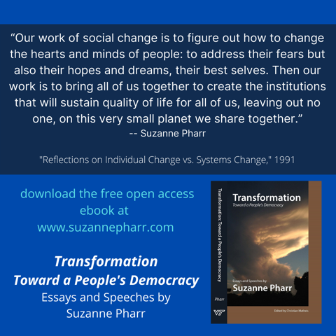 Transformation: Toward a People's Democracy